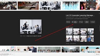 How to download large size images from google and show view image button