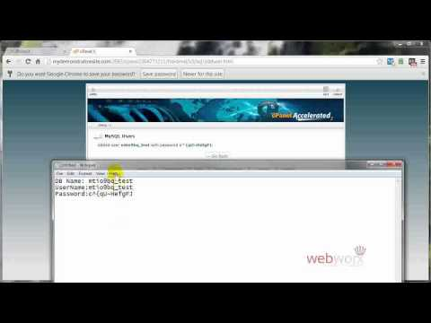 How to Create a My SQL Database Using cPanel