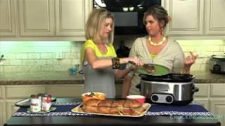 Crockin' Girls: French Dip Sandwiches