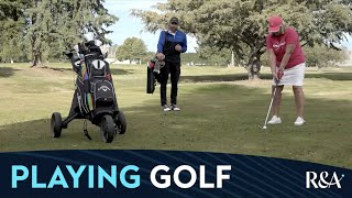 Golf and COVID Quick Guides: Playing golf