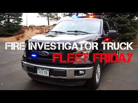 Fleet Friday - Fire Investigator Vehicle