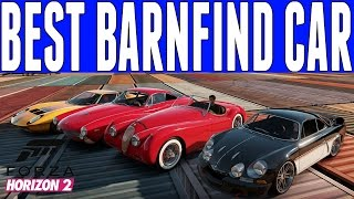 Forza Horizon 2 BEST BARN FIND CAR IN THE GAME