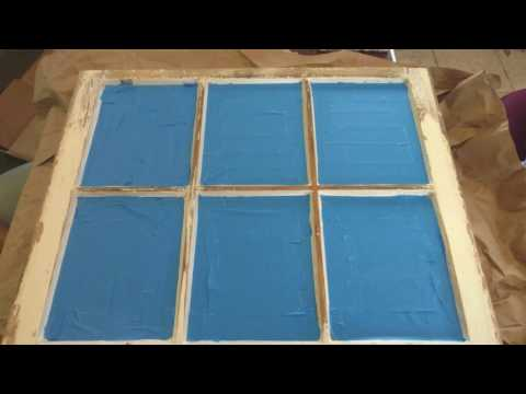 DIY: Old Window to Picture Frame