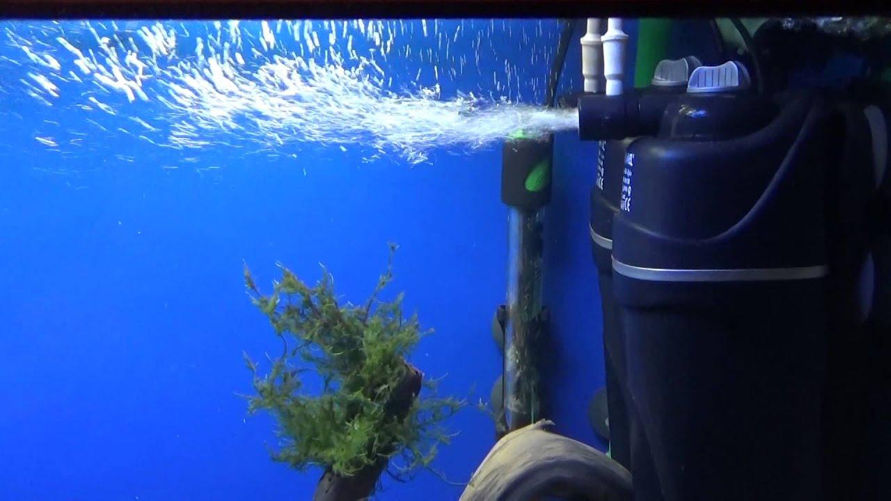 Регулировка подачи воздуха в аквариумный фильтр