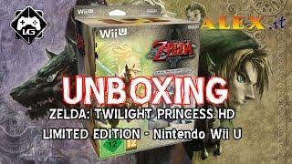 UNBOXING ITA | The Legend of Zelda: Twilight Princess HD Limited Edition | WII U