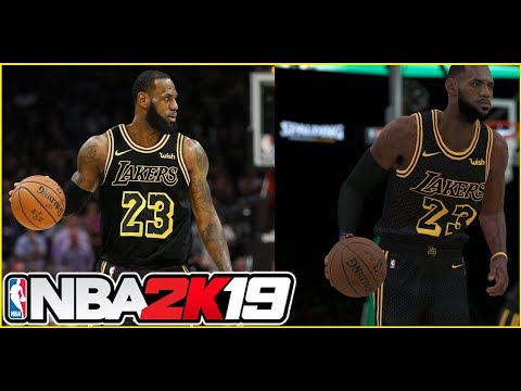 half off 8790f 16414 Lebron James First Look as a Laker! How will it affect the NBA and NBA  2K19