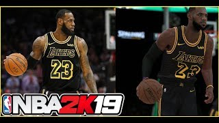 Lebron James First Look as a Laker! How will it affect the NBA and NBA 2K19??