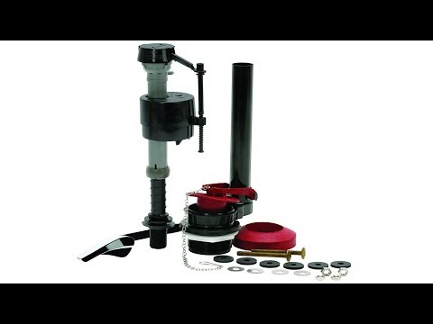 FluidMaster 400AKR Complete Toilet Tank Repair Kit HD Full Installation
