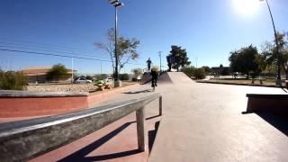 BMX - Matt Closson Rides the new Las Vegas Skate Plaza