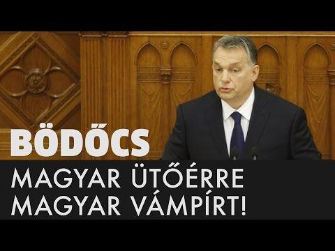 Magyar ütőérre magyar vámpírt! - Orbán Viktor beszéde