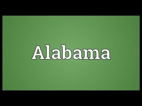 Alabama Meaning