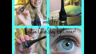 Buy and Try: Revlon Colorstay Eyeliner Thumbnail