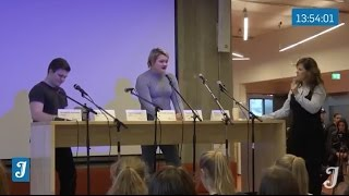 Jærbladet sender live fra Bryne vgs