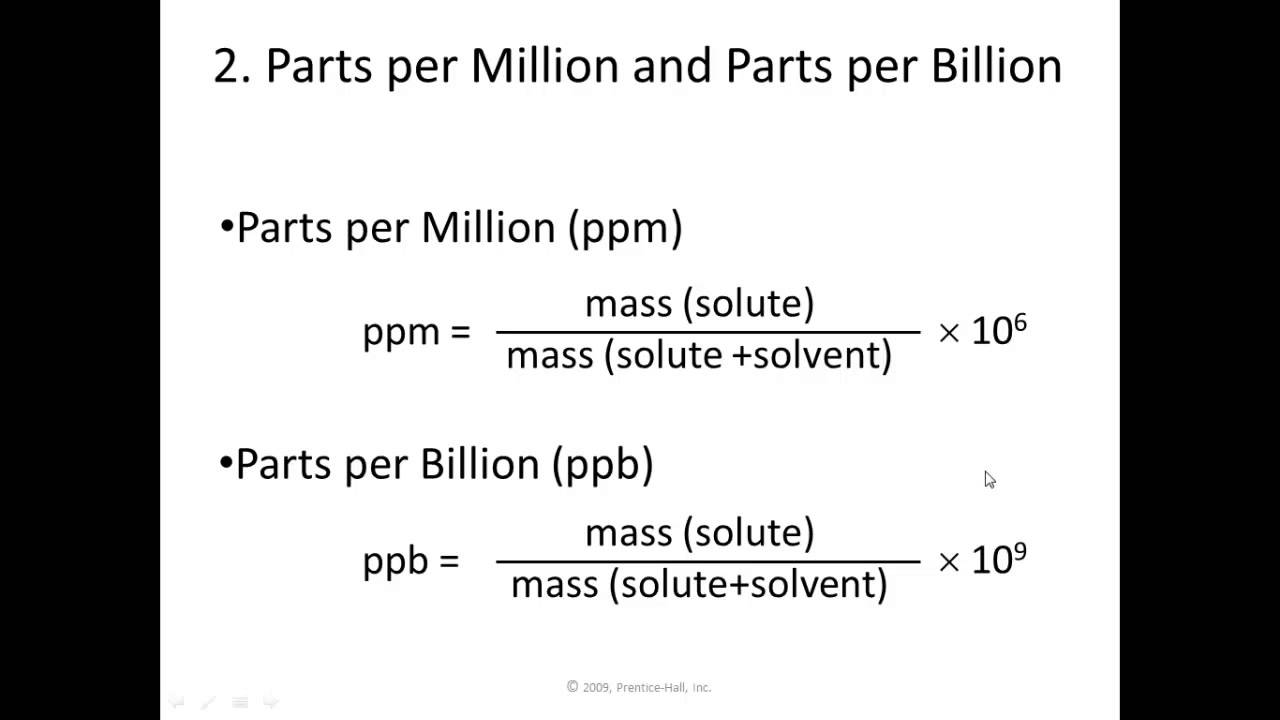ppm chapter 1 Section ii: chapter 1 [updated: february 11  without a catalytic converter, gasoline-powered equipment typically produces thousands of parts per million.