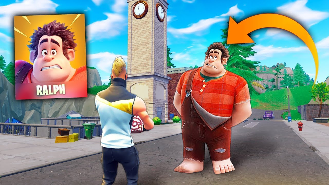 New Wreck It Ralph In Fortnite Fortnite Funny And Best