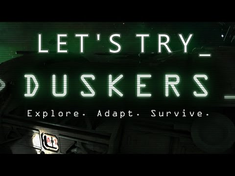 Let's Try: Duskers - Close the Dang Door!!
