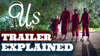 Jordan Peele's US Trailer Explained (Who Are The Tethered?)