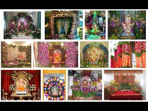 Ganpati Flower Decoration Ideas At Home Decoration Ideas YouTube Amazing Flowers Decoration For Home Ideas