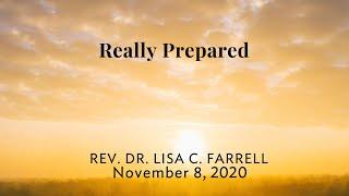 Really Prepared   Nov  8