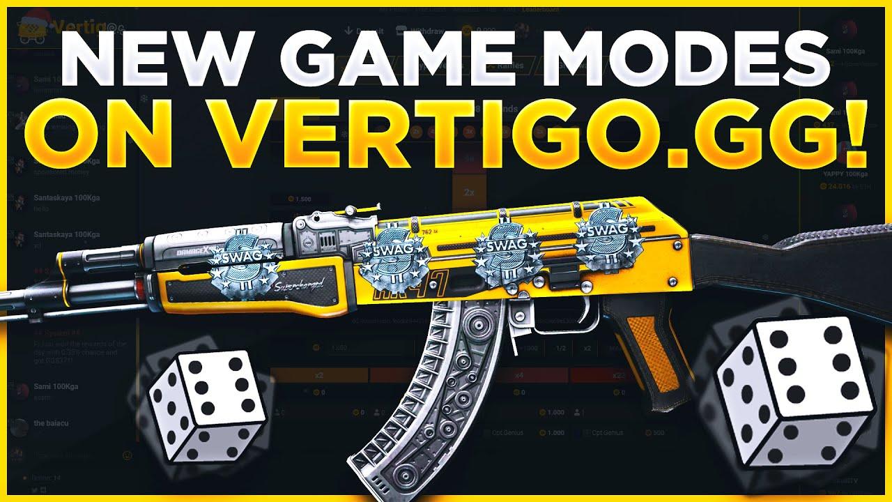 TRYING NEW GAME MODES ON VERTIGO GG!
