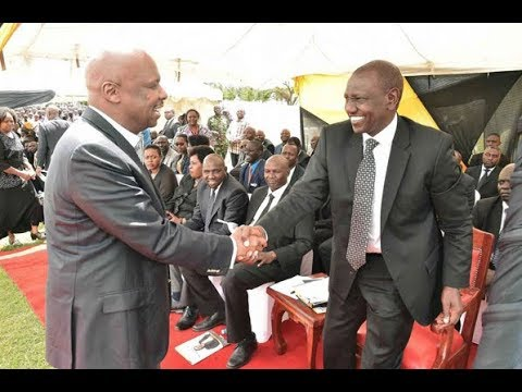 Image result for William Ruto and Gideon Moi""