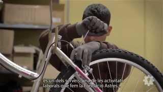 Bicicleta Solidària. Fundació Astres