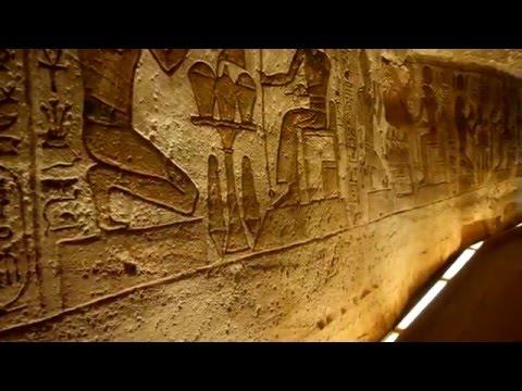 Inside Rare Footage of Interior Abu Simbel Temple in Egypt