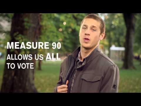 Vote Yes on Ballot Measure 90 - Oregon Open Primaries