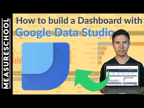 Google Data Studio Tutorial 2017 📊 - How to build a Dashboard with GDS