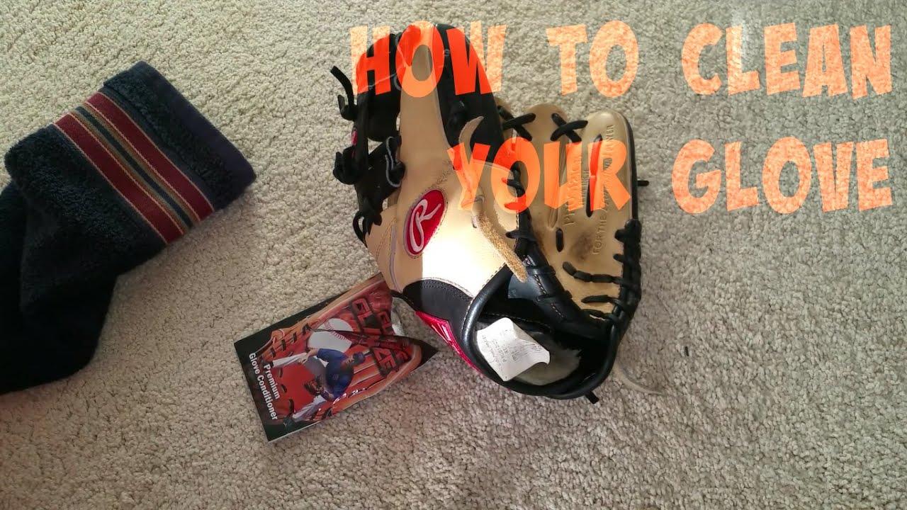 How to Clean a Baseball Glove