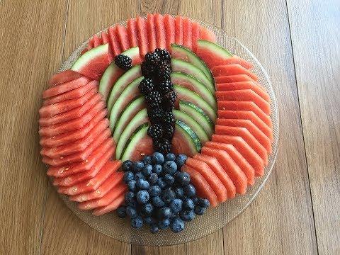 Summer Watermelon Tray