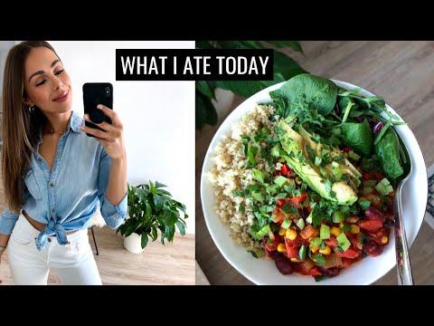 WHAT I ATE TODAY | Healthy & Easy Food Ideas | Annie Jaffrey