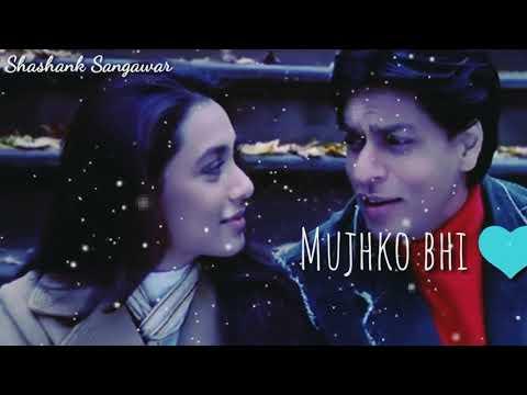 Sad Love status❤ Kabhi alvida na kehna💏 Srk & Rani