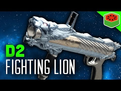 FIGHTING LION - NEW EXOTIC GRENADE LAUNCHER! | Destiny 2 Gameplay