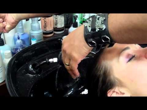 Keratin Smoothing Treatment at Oliver's Hair Salon, Overland Park, KS.mp4