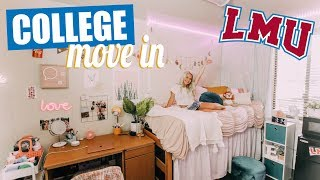 College Move in Vlog! Loyola Marymount University