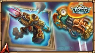 New Gear Set! Steampath! Opening These New Chests! Lords Mobile