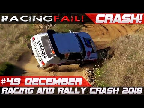 Racing and Rally Crash Compilation | Fails of the Week 49 December 2018
