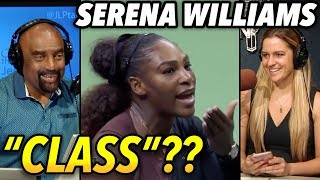 The Real Story on Serena Williams Angry Outbursts: