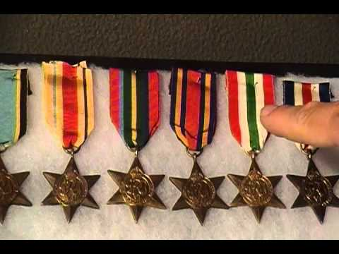 WW2 Allied British Campaign Stars Air Crew Europe Burma Military medal Collection - YouTube