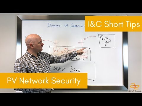 I&C Short Tips - PV Network Security