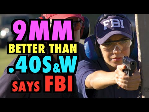 Modern 9MM is Superior to .40S&W (says FBI)
