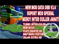 NEW MOD OBB V3.4.3 SUPORT MOD SPESIAL SOUND MERCY INTER CULER JAHAT!+TURBO GRAFIK HD MAP BARU
