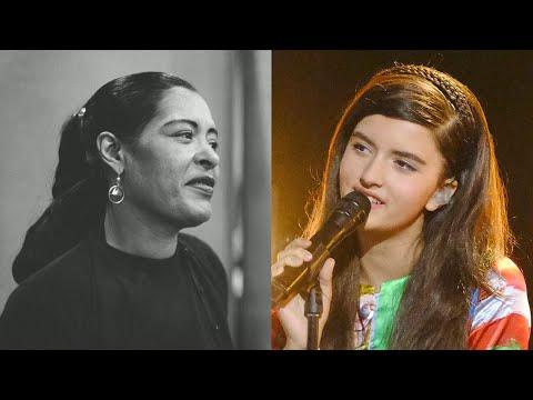 angelina-jordan---billie-holiday---cheek-to-cheek-(mash-up)