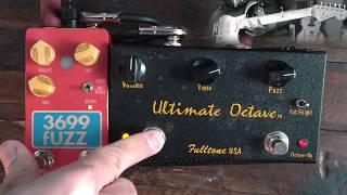 Danelectro 3699 (Foxx Tone Machine) vs. Fulltone Ultimate Octave | octave fuzz shootout