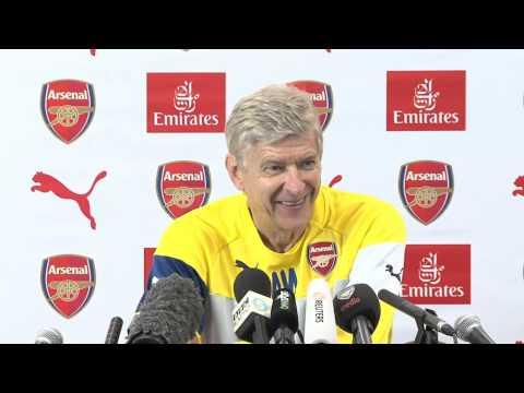 Arsène Wenger's laugh