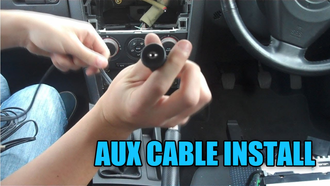 diy aux input fitting (mazda 3) - s02e05 - youtube
