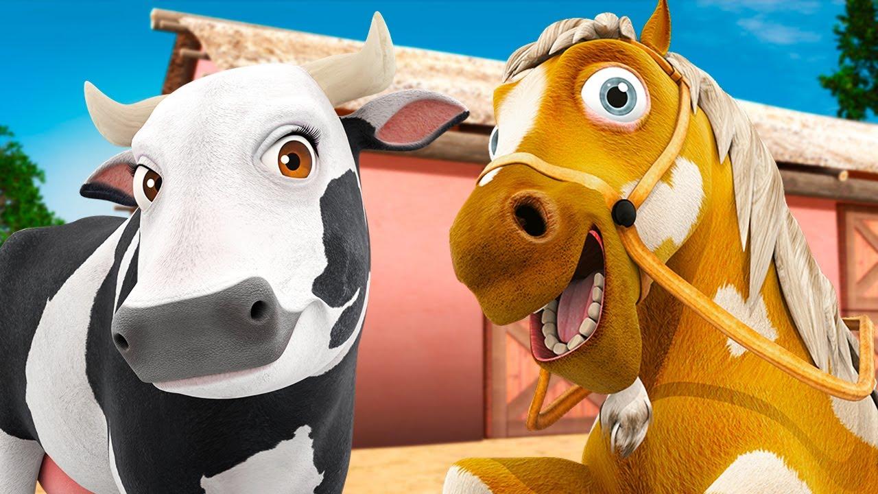 Meu Cavalo - A Vaca Maru e Mais Músicas! | A Fazenda do Zenon
