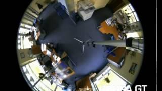 kamera sufitowa rybie oko