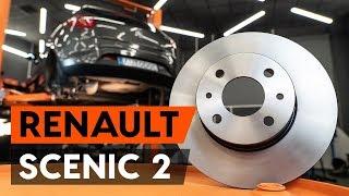 Montaggio Dischi Freno posteriore e anteriore RENAULT SCÉNIC II (JM0/1_): video gratuito
